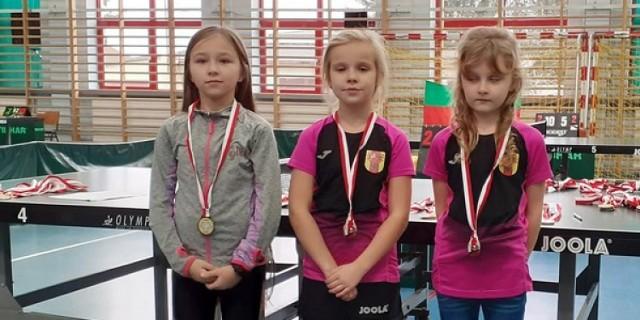Dwa złote, jeden srebrny i cztery brązowe medale zdobyli tenisiści stołowi z Kleszczowa