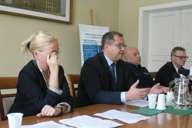 O wdrożeniu nowego systemu komunikacji w Kaliszu poinformowano na konferencji prasowej