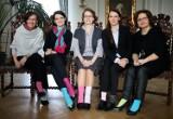 Akcja dla osób z zespołem Downa. Znane kobiety z Pomorza założyły różne skarpetki [WIDEO, ZDJĘCIA]