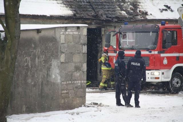 Zdjęcie ilustracyjne/W budynku mieszkalnym w Miesiączkowie znaleziono spalone ciało młodego mężczyzny
