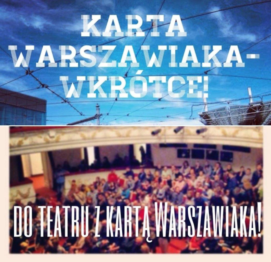 Karta Warszawiaka Tansze Bilety Do Teatru Naszemiasto Pl