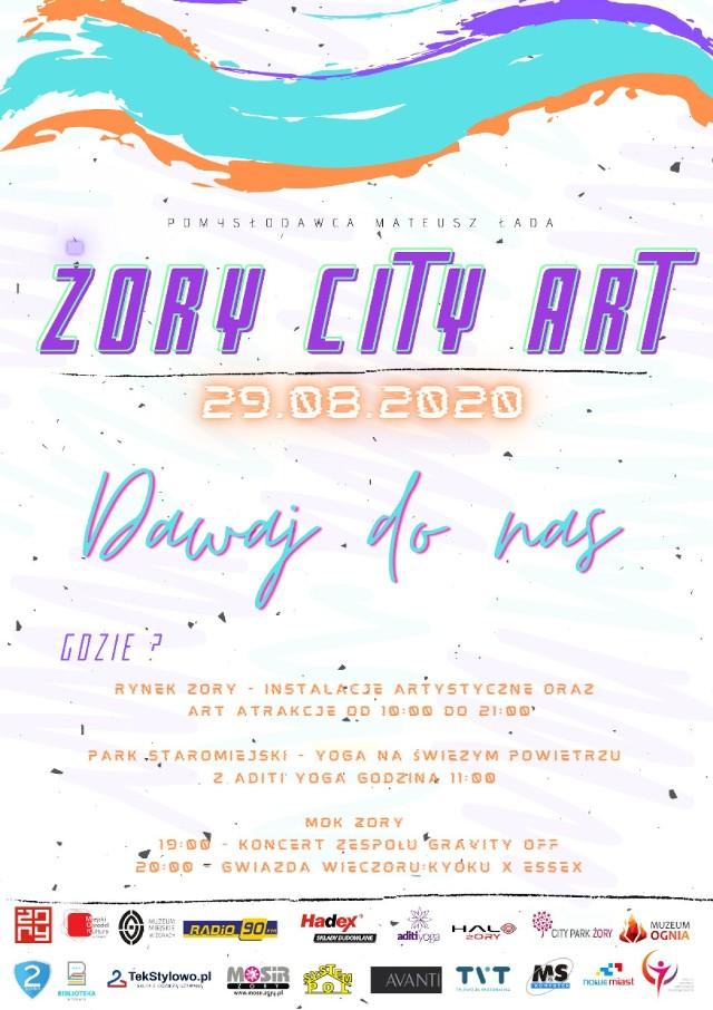 W Żorach zagości zupełnie nowe wydarzenie kulturalne: Żory City Art.