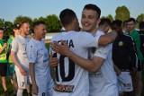 Tak cieszyli się piłkarze Lechii Zielona Góra po zdobyciu lubuskiego Pucharu Polski