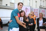 Tłumy osób na chorzowskim rynku przywitały złotego medalistę Igrzysk Olimpijskich. Kajetan Duszyński na Sportowym Rynku Gwiazd
