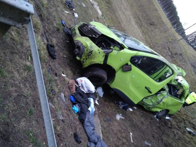 Do tragicznego wypadku doszło na autostradzie A2 na wysokości Chociszewa.