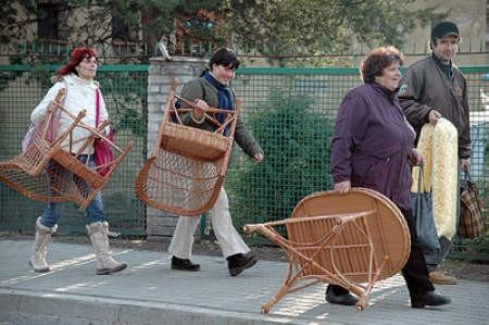 Nasi południowi sąsiedzi rzucili się na polską wiklinę, odzież i pościel.