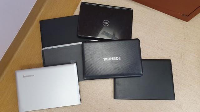 Znalezione laptopy