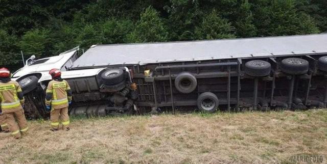 Wypadek na opolskim odcinku autostrady A4.