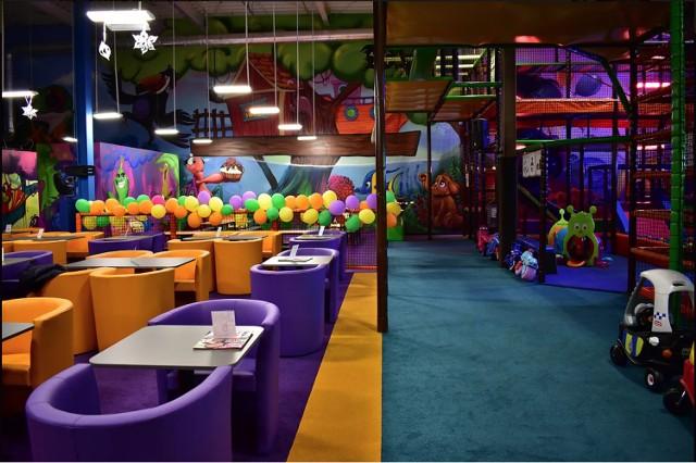 W Galerii Łomża powstaje nowa sala zabaw dla dzieci.