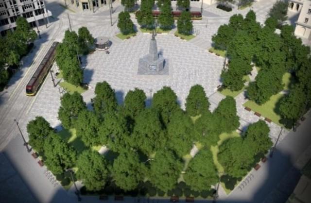 Jak zmieniał się Plac Wolności?