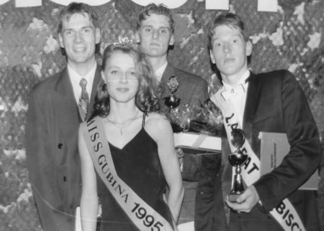 Rok 1995. Miss Gubina Monika Skrobania.