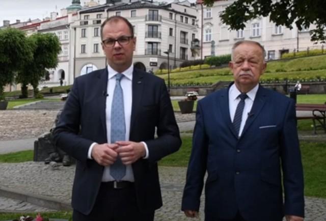 Prezydent Przemyśla Wojciech Bakun i starosta przemyski Jan Pączek apelują o pomoc dla rocznego Liama z Ruszelczyc w gm. Krzywcza.