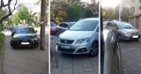 """Mistrzowie parkowania w Toruniu. Tak parkują """"święte krowy""""! Zobacz zdjęcia!"""