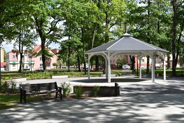 Sporo się zmieniło w Parku Tysiąclecia w Krośnie Odrzańskim. Zobaczcie jak wyglądał przed, a jak po modernizacji.