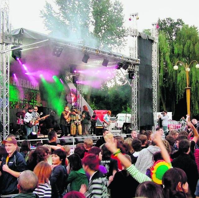 Zespół Konopians zawsze gromadził podczas festiwalu w Czeladzi liczną publiczność