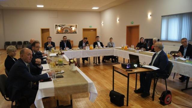Spotkanie samorządowców Lokalnej Grupy Działania KOLD