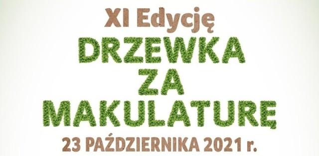 """""""Drzewko za makulaturę"""" zaplanowano na 23 października w Bełchatowie."""