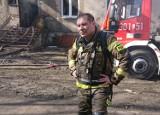 """Bohater zdjęcia z Lublina, które obiegło internet. """"W życiu nie żałowałem, że zostałem strażakiem"""""""