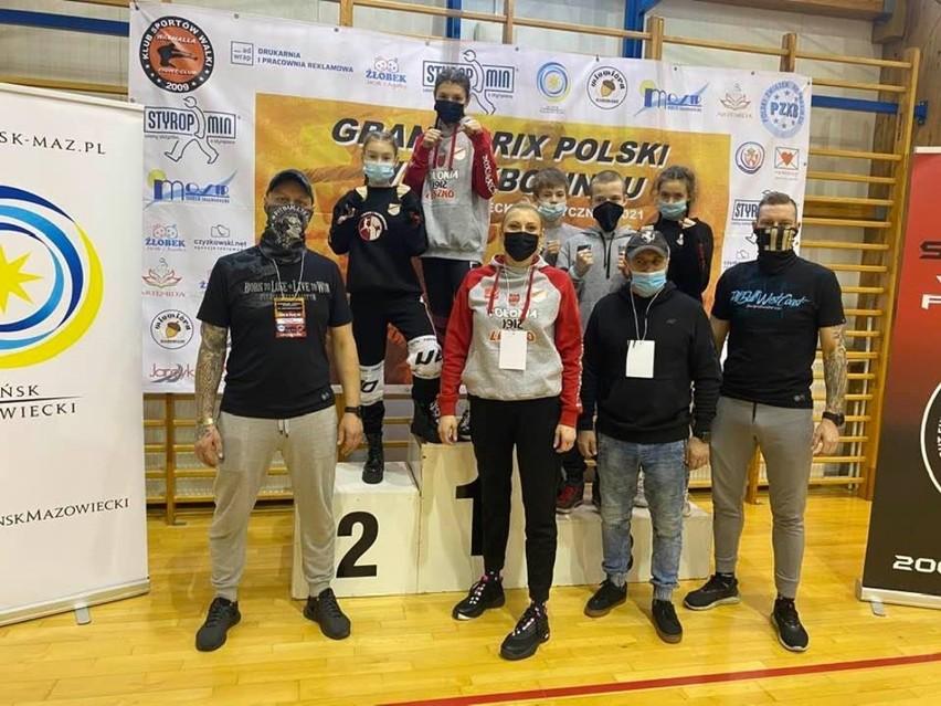 Dwa zwycięstwa i cztery razy na podium w Mińsku Mazowieckim