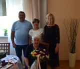 Pani Sabina Małyszczyk obchodziła jubileusz 90-tych urodzin