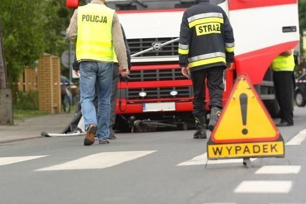 Wypadki na autostradzie A-6. Trzy osoby ranne