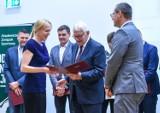 Medaliści olimpijscy wyróżnieni podczas konferencji podsumowującej 100-lecie AZS-u Gdańsk ZDJĘCIA