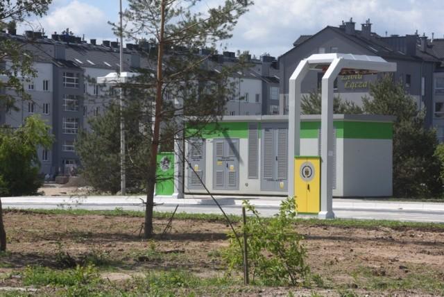 Nowa pętla autobusowa MZK z ładowarkami na osiedlu Czarkowo w Zielonej Górze Łężycy.