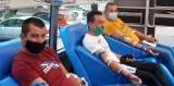 Akcja krwiodawstwa w Opatówku. Dzielili się najcenniejszym lekiem. FOTO