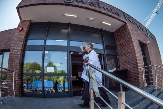 Oficjalne otwarcie pływalni w Nowej Soli, 17 czerwca 2021 roku. Obiekt poświęcił ks. proboszcz parafii pw. św. Michała Archanioła Andrzej Oczachowski. Kliknij w zdjęcie i przejdź do galerii. Zobacz, jak było na otwarciu. >>>>>