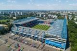 Teren wokół stadionu Wisły Kraków zmieni oblicze: muzeum, pomnik Reymana, Aleja Gwiazd, nowe boisko ZDJĘCIA Z DRONA
