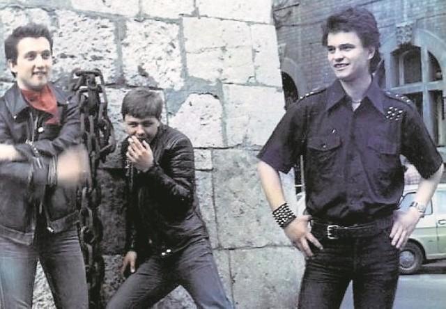 Martwy Fiolet. W tej krakowskiej kapeli Krzysztof Nurkowski (z prawej) pisał swój punkowy DNA do portretu Solidarnościowca.
