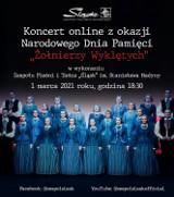 Koszęcin. Koncert internetowy ku czci Żołnierzy Wyklętych