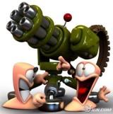"Gameplay z gry ""Worms 4""."