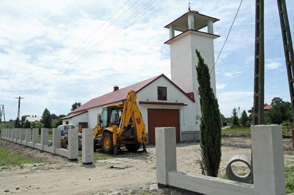 Teraz centrum wsi Pojawie to plac budowy. Za kilka miesięcy będzie to jedno z ładniejszych miejsc w gminie