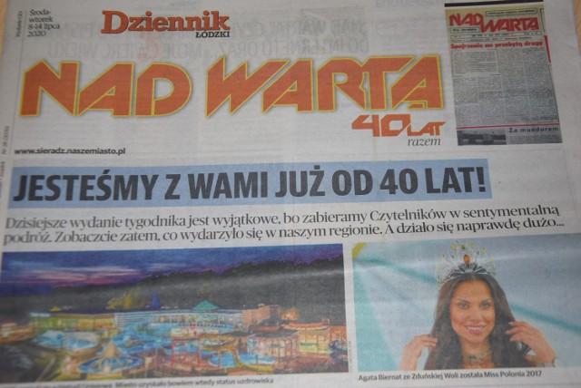 "40 lat tygodnika ""Nad Wartą"""