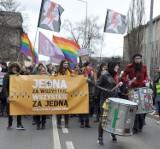Manifa w Krakowie w Dniu Mężczyzny [ZDJĘCIA]