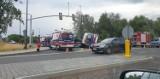 Gliwice: zderzenie karetki, osobówki i samochodu dostawczego na ul. Kujawskiej [ZDJĘCIA]