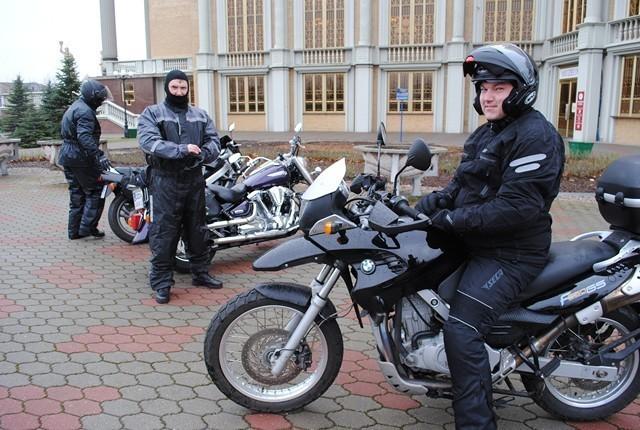 Motocykliści ze Zgorzelca przyjechali po błogosławieństwo