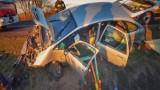 Czeluścin: Dachowanie auta. Kobieta była pod wpływem alkoholu
