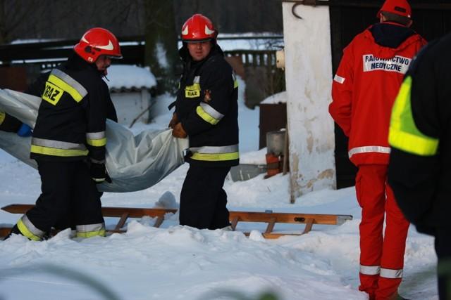 Ciało 88-latka wyciągnęli ze studni sycowscy strażacy