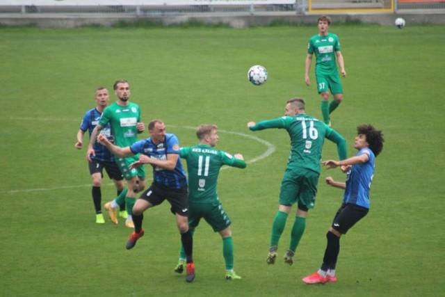 Mecz Hutnik Kraków - KKS Kalisz 0:2, 1 maja 2021 r.