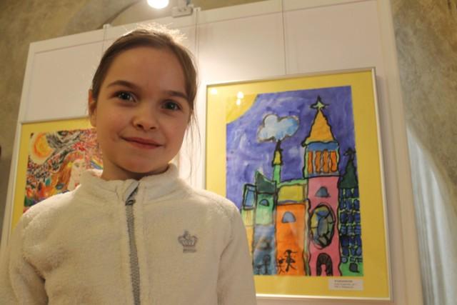 Wyróżnienie w konkursie otrzymała Zofia Krajewska, lat 7, uczennica Szkoły podstawowej w Świebodzinie