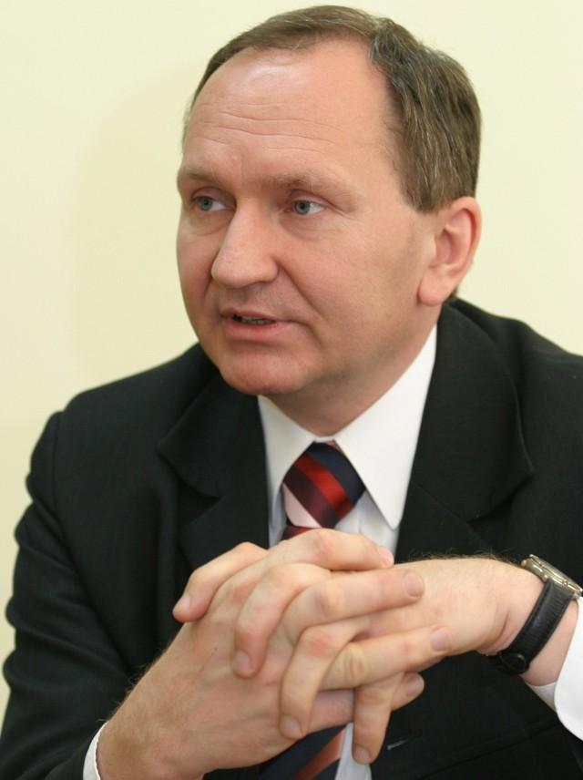 Zbigniew Potyrała, starosta oleśnicki
