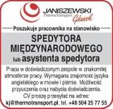 Firma Janiszewski ThermoTransport poszukuje pracownika na stanowisko spedytora międzynarodowego