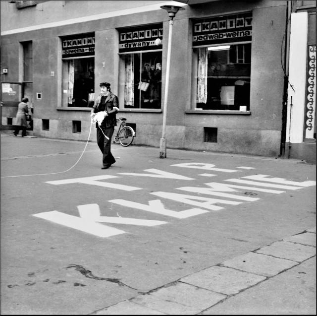 Rok 1981 w Pile na zdjęciach Ryszarda Janickiego