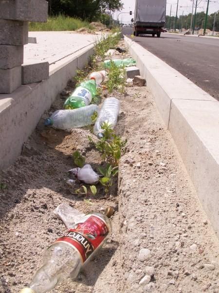 Śmieci w Poznaniu. Do kogo należą odpady na Grunwaldzkiej?