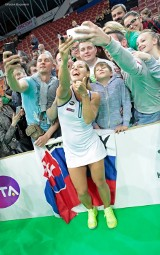 Cibulkova pokonała Giorgi w finale [ZDJĘCIA]