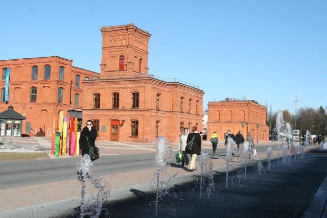 Manufaktura jest jednym z ulubionych miejsc, odwiedzanych przez turystów