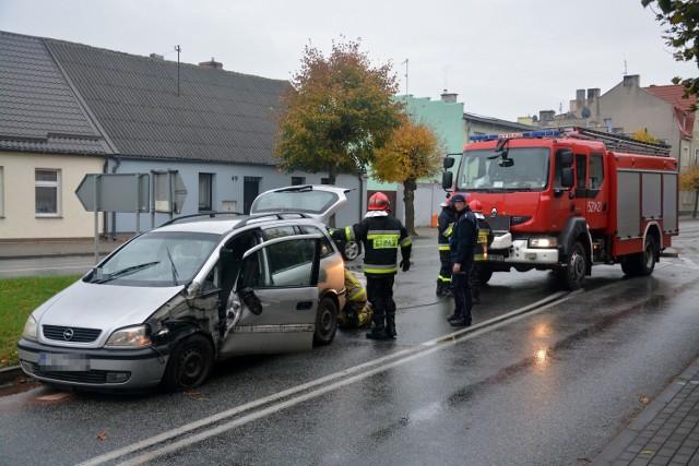 30 października doszło m. in. do kolizji w rejonie ulicy Nowy Rynek i Sienkiewicza w Sępólnie
