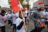 Bieg Niepodległości w Kraśniku. Mieszkańcy uczcili Święto Niepodległości na sportowo. Zobacz zdjęcia!